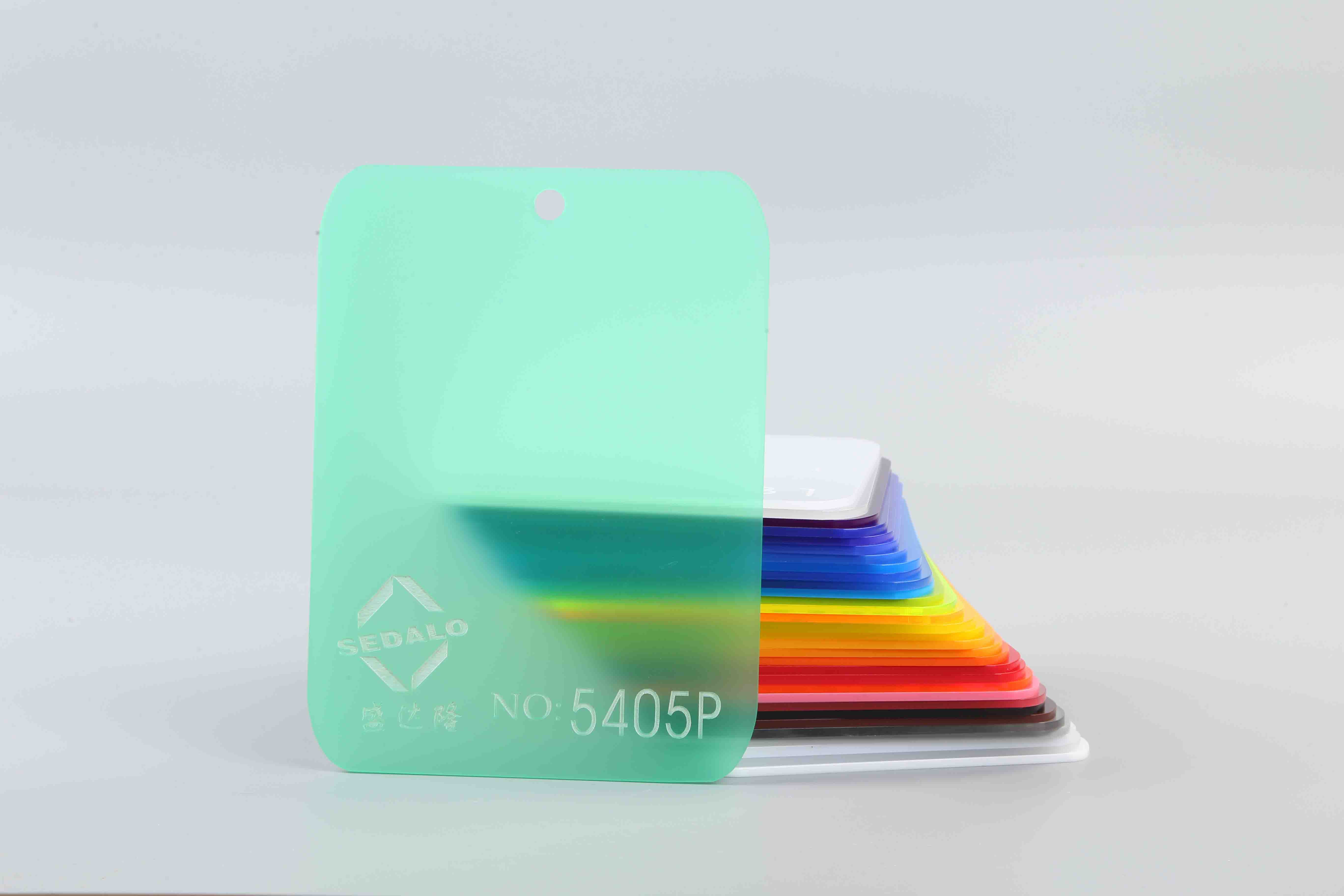 Matte Green Acrylic Sheet No.5405P