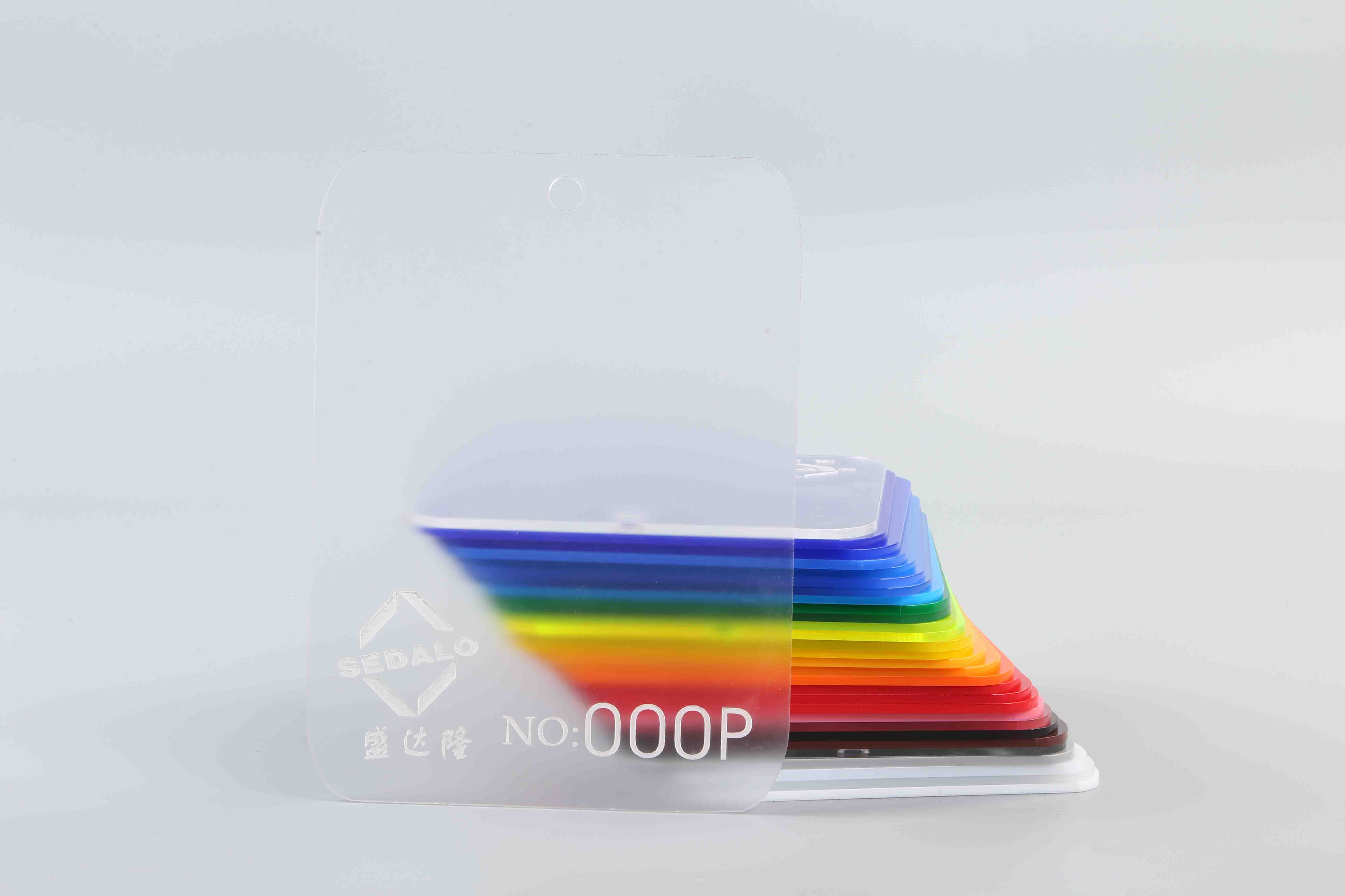 Matte Clear Cast Acrylic Sheet 000P